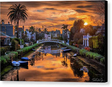 Load image into Gallery viewer, Venice Canal - Canvas Print
