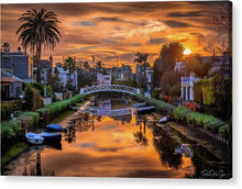 Load image into Gallery viewer, Venice Canal - Acrylic Print