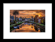 Load image into Gallery viewer, Venice Canal - Framed Print