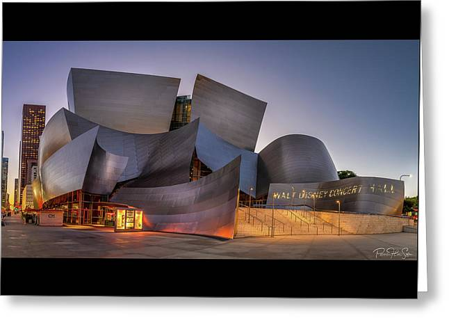 Walt Disney Concert Hall - Greeting Card