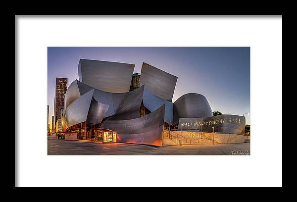 Walt Disney Concert Hall - Framed Print