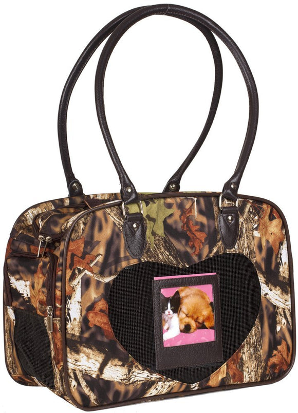 J Garden Natural Camo Pet Dog Cat Carrier