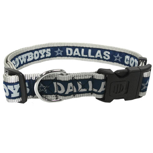 Dallas Cowboys Woven Dog Collar