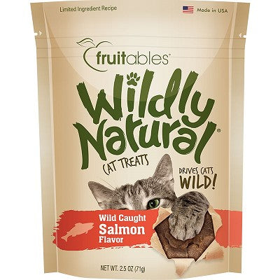 Fruitables Wildly Natural Salmon Treats