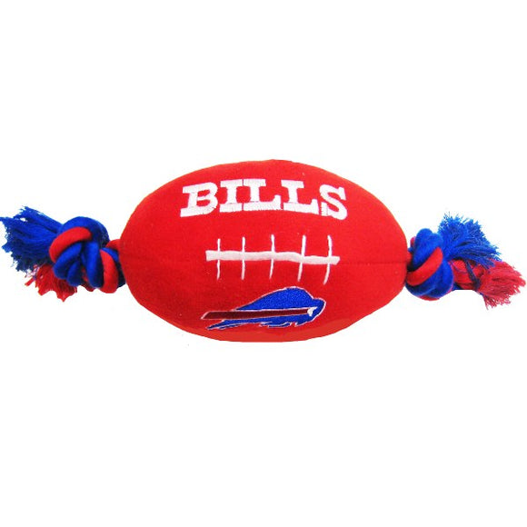 Buffalo Bills Football Rope Toy