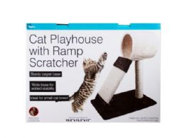 Cat Play house with Ramp Scratcher