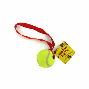 Tennis Ball and Rope Tug toy
