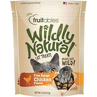 Fruitables Wildly Natural Chicken Flavor Treats