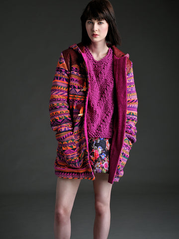 Fairisle Duffle Coat