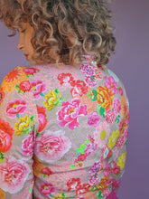 Load image into Gallery viewer, Long Sleeved Turtleneck in Pink Floral