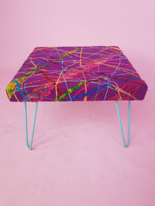 Embellished Bench in Rainbow