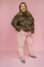 Load image into Gallery viewer, Brown Leopard Print Jumper