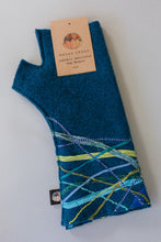 Load image into Gallery viewer, Lambs wool Embellished Hand Warmers - Diesel - Mittens - Megan Crook