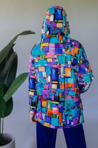 Digital Printed Rain Coat - Jacket - Megan Crook