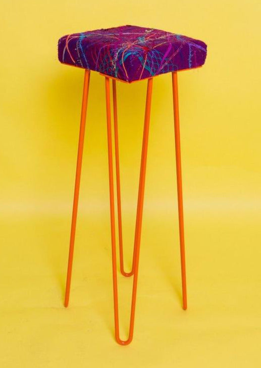 Embellished Bar Stool - Stool - Megan Crook