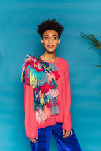 Load image into Gallery viewer, Bespoke Knitted Jumper- Pink - Jumper - Megan Crook