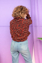 Load image into Gallery viewer, Red Leopard Print Jumper
