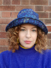 Load image into Gallery viewer, Rain Hat in Digital Knit Print - Accessories - Megan Crook