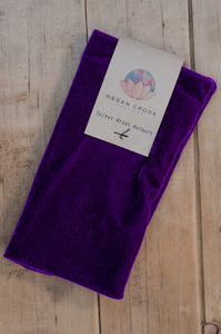 Wrist Warmers Set in Purple - Accessories - Megan Crook