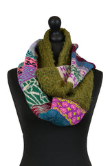 Fairisle Bouclé Snood - Scarf - Megan Crook