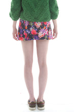 Load image into Gallery viewer, Quilted Button Front Skirt in Floral Print - Skirt - Megan Crook