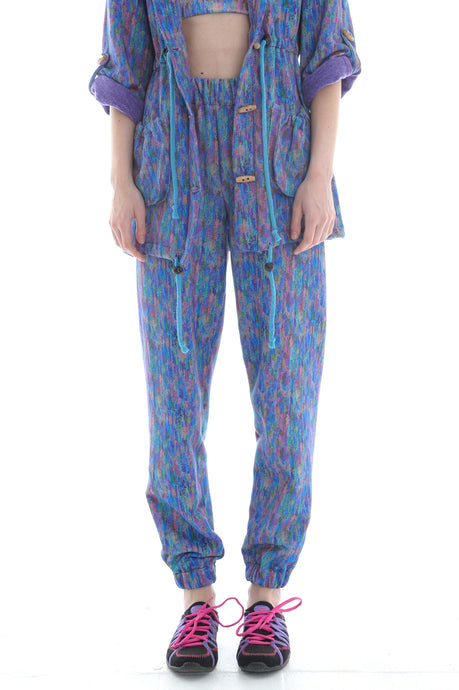 Liberty Fleece Sweatpants - Trouser - Megan Crook