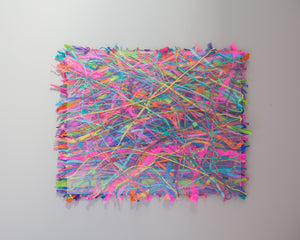 Glass Scribble Wall Art -  - Megan Crook