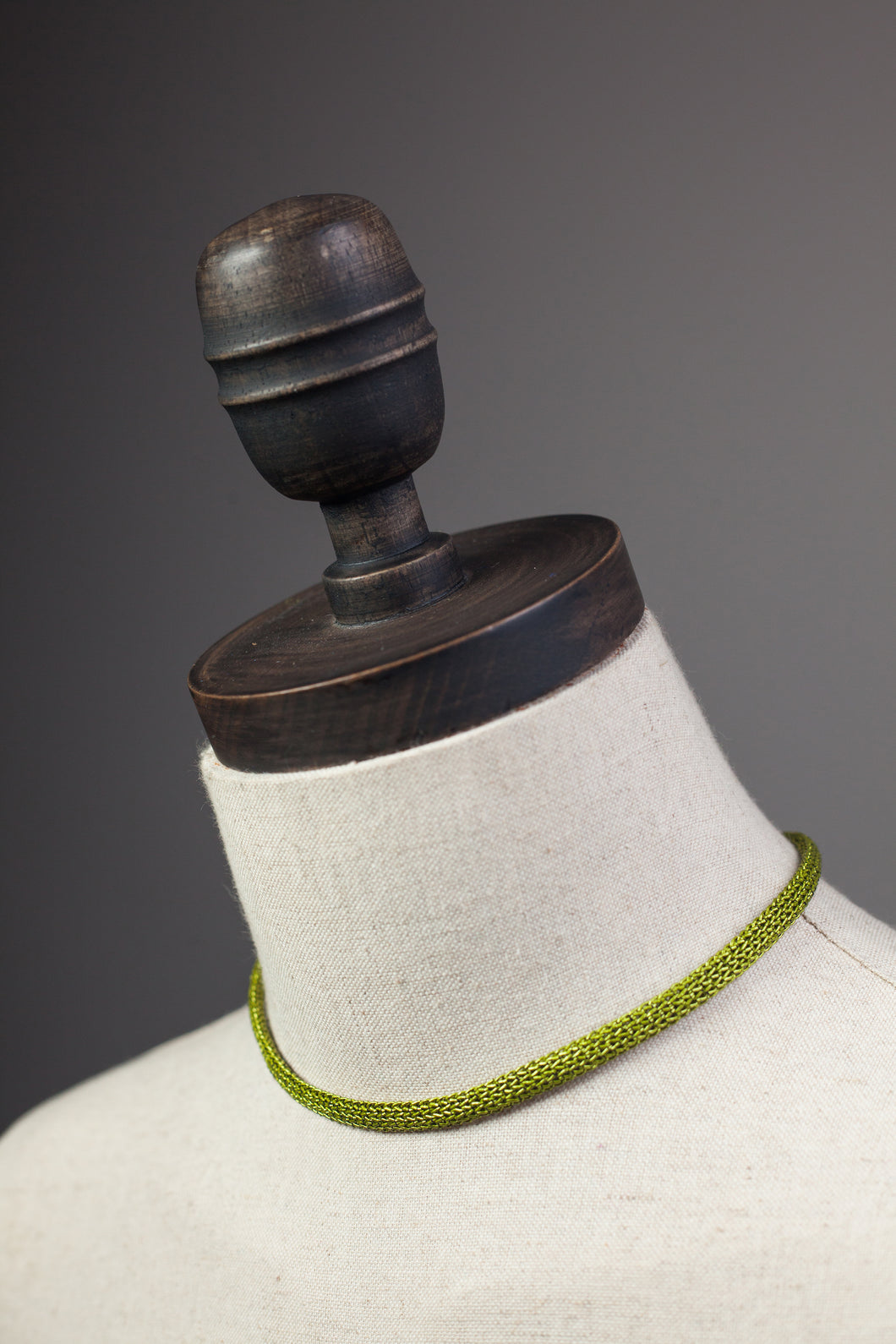 Chain Necklace in Lime - Necklace - Megan Crook