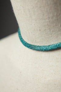 Chain Necklace in Aqua - Necklace - Megan Crook