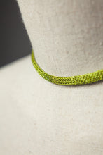 Load image into Gallery viewer, Chain Necklace in Lime - Necklace - Megan Crook