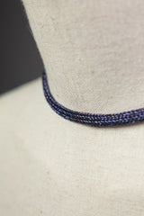 Chain Necklace in Purple - Necklace - Megan Crook