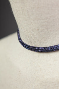 Chain Necklace in Blue - Necklace - Megan Crook