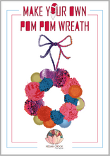 Load image into Gallery viewer, Pompom Wreath Kit