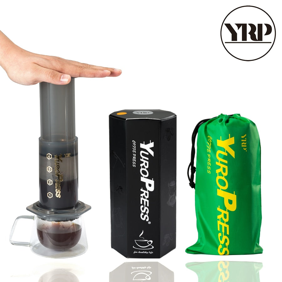 YRP YuroPress Portable Coffee Maker, Espresso,  French Press