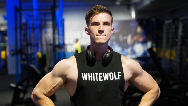 Athlete Wearing WHITEWOLF Tank Top