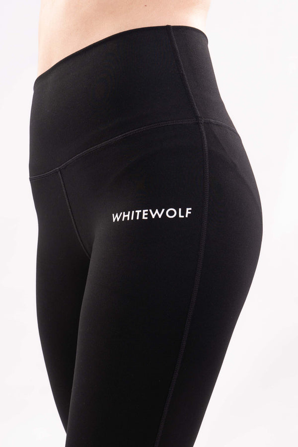 Premium Blackout Leggings V1 - WHITEWOLF