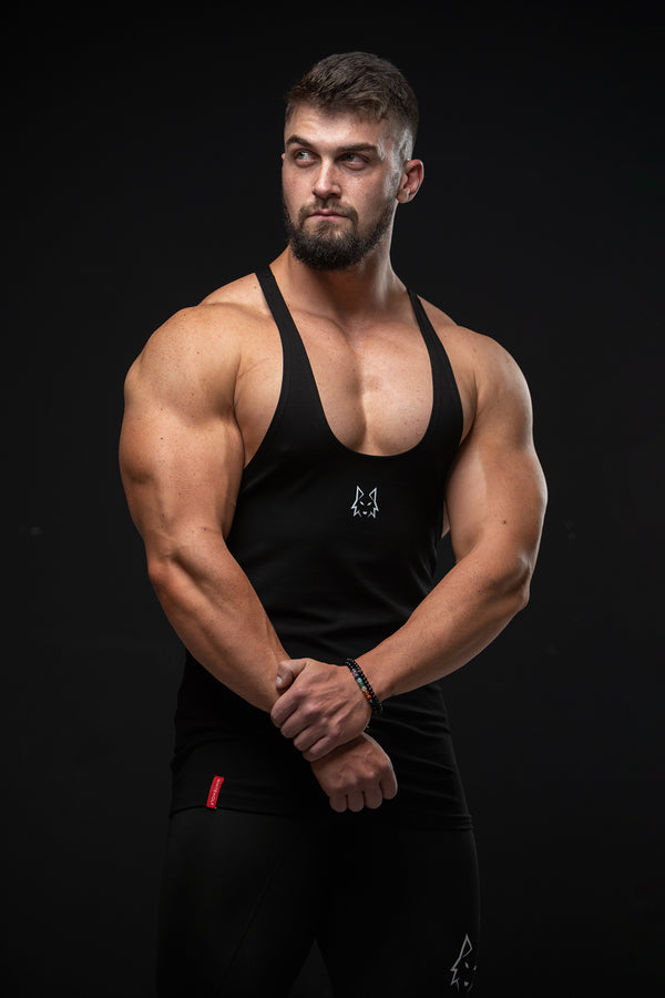 Premium Black Performance Stringer - WHITEWOLF