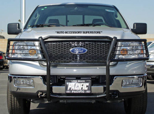 2004-2008 Ford 150 Grille Guard: Black Version