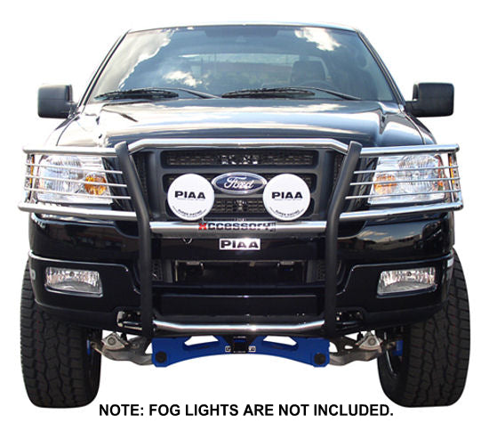 04-08 Ford F150 Pickup Brush Guard (Chrome Version) - Ronusa.com