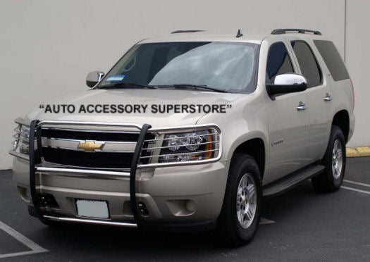 2007-2013 Chevy Tahoe Grille Guard: Black Version