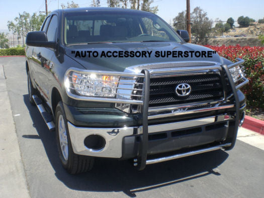 2007-2013 Toyota Tundra Grille Guard: Black Version; Double Crew Cab