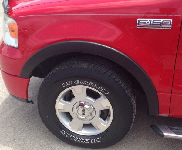 2007-2013 Chevy Silverado (5.5 Ft. Short Bed) Fender Flares (OEM Style) - Ronusa.com