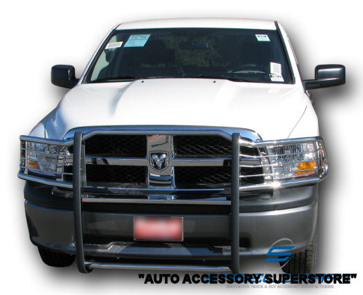 2009-2016 Dodge Ram Grille Guard: Black Version