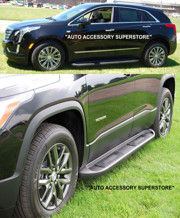 2017-Up Cadillac XT5 TPO Molded Running Boards - Ronusa.com