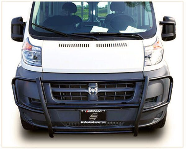 2014-Up Ram Promaster (Fullsize Van) Brush Guard1 (Black Version) - Ronusa.com