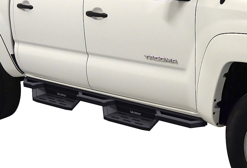 2005-2020 Toyota Tacoma Double Cab/ Crew Cab Black (X-Magnum Style) Running Boards - Ronusa.com