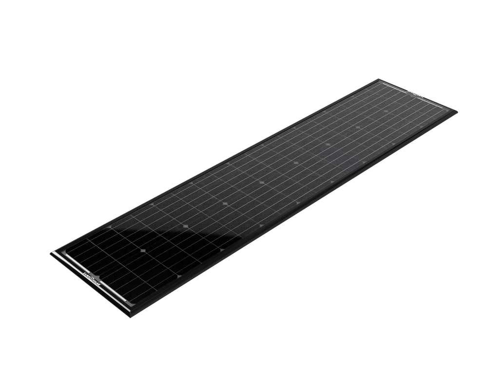 90 Watt Obsidian Low Profile Solar Panel Kit (Integration Kit Required) - Ronusa.com