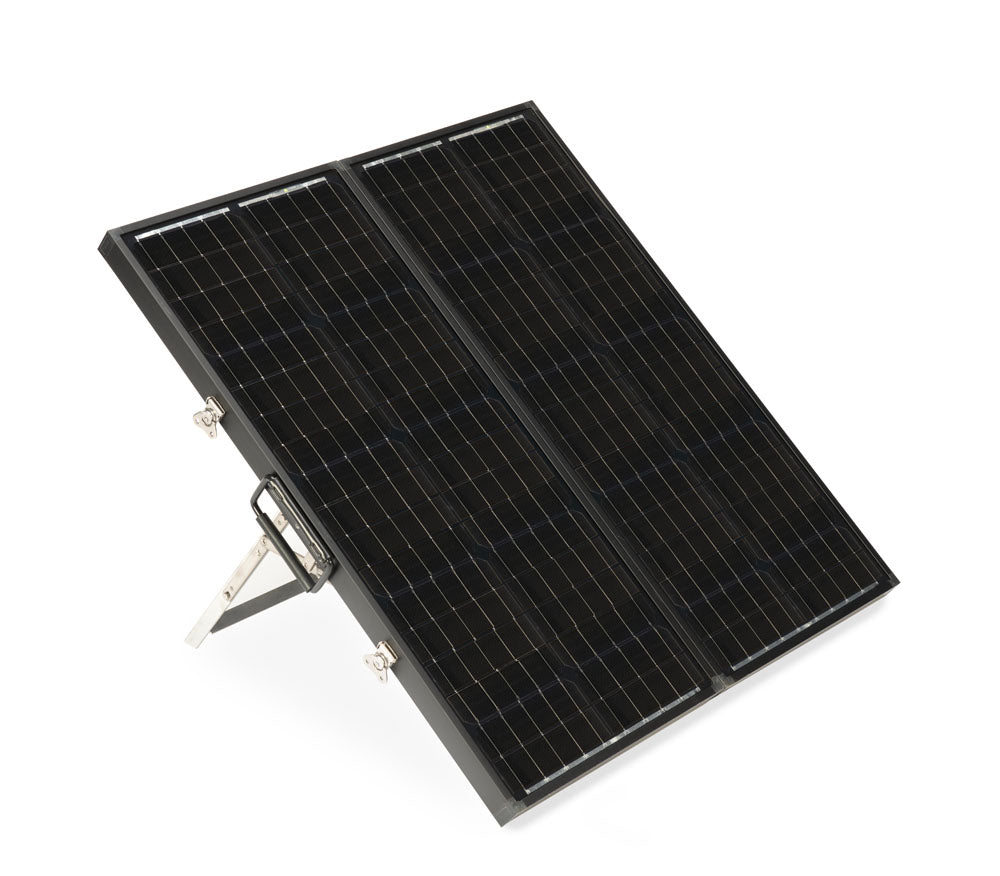 90 Watt Long Portable Solar Panel Kit - Ronusa.com
