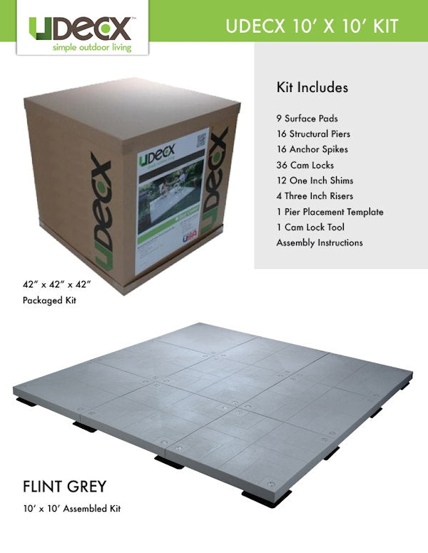 composite decking in a box