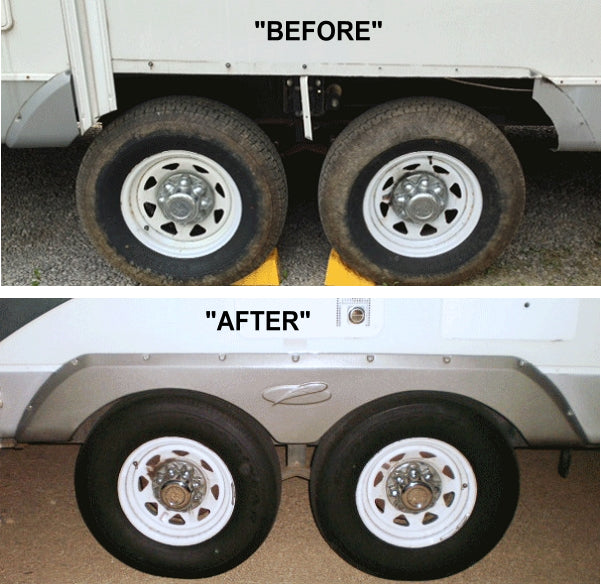trailer fender skirt